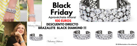 Valentina Salerno Brazalete Black Diamond