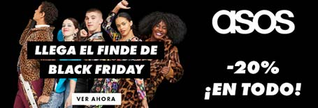 20% de descuento ASOS en the-blackfriday.com