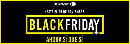 Ofertas Blackfriday en Carrefour