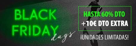 Runnics - BLACK FRIDAY DAYS hasta -60% en toda la web + 10€ DTO Extra