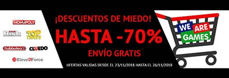 We are games - Descuentos Salvajes de hasta el 70%